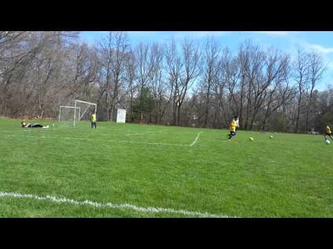 George MacKinnon Soccer 4/23/2016 spring soccer u10 malden wins vs Chelmsford 10 -0
