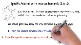 Exercise Science Foundations 2 - S.A.I.D. Principle
