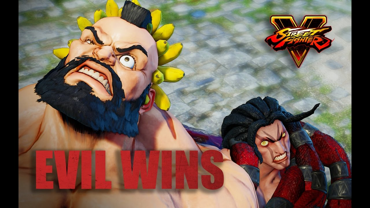 Necalli Dominates All Male Characters Street Fighter V Necalli Win Pose Youtube
