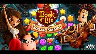 Book of Life: Sugar Smash iOS / Android Gameplay Trailer HD screenshot 5