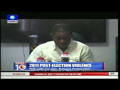 2011 Post-election Violence: PDP Calls On ICC To Try Buhari