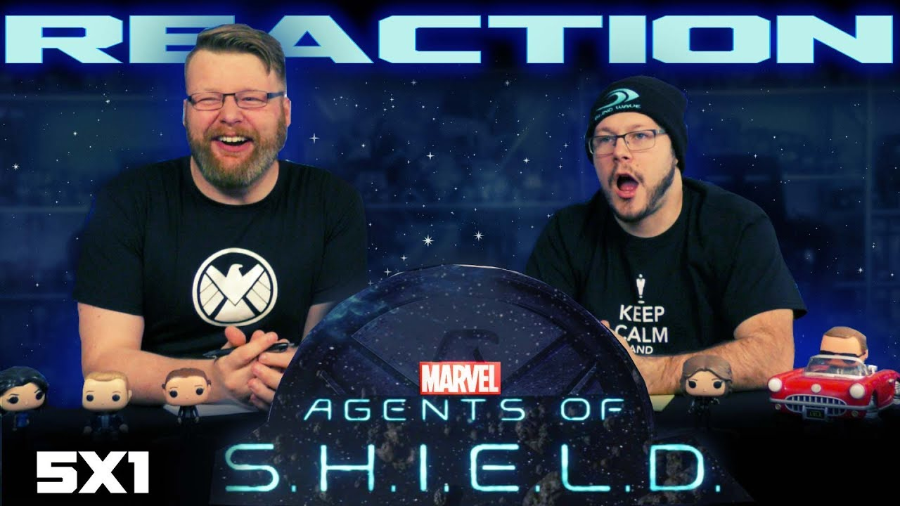 Agents of Shield 5x1 REACTION!!