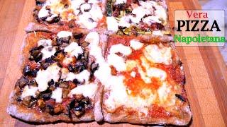 PIZZA NAPOLETANA PERFETTA, RICETTA ORIGINALE Lievito Madre | Carlitadolce - Homemade Italian Pizza