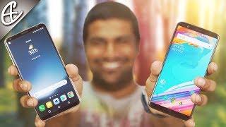 LG V30+ | V30 Plus vs OnePlus 5T Full Comparison - What
