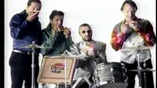 Ringo Starr & The Monkees Pizza Hut Commercial