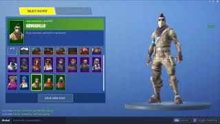 New Skin ARMADILLO - Fortnite Skin