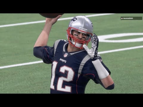 Tom Brady DOMINATES NFL 2017 Season Opener | Chiefs vs Patriots | Madden 18 Online Gameplay