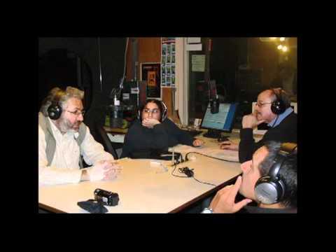 13.08.2011 -- GIORGIO BONGIOVANNI Y PIER GIORGIO CARIA EN RADIO SARANDI -- MONTEVIDEO, URUGUAY