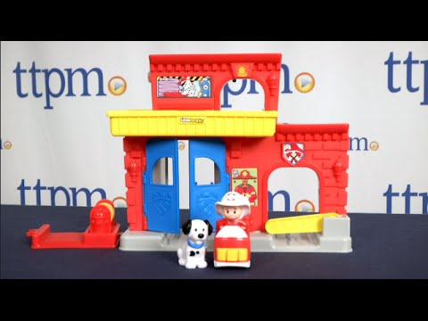 Little People Fire Station From Fisher-Price