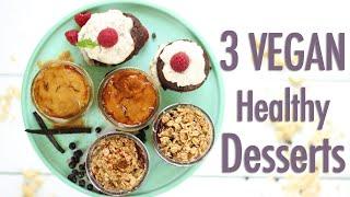 3 Easy Mini Vegan Desserts | Collab w/Fablunch