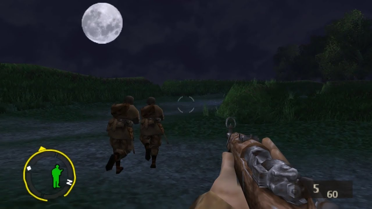 Brothers In Arms D Day Psp Gameplay Sample Youtube