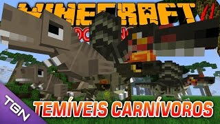 🎮 Minecraft Parque dos Dinossauros - Temp 2 - Ep 29 - TEMÍVEIS CARNÍVOROS thumbnail