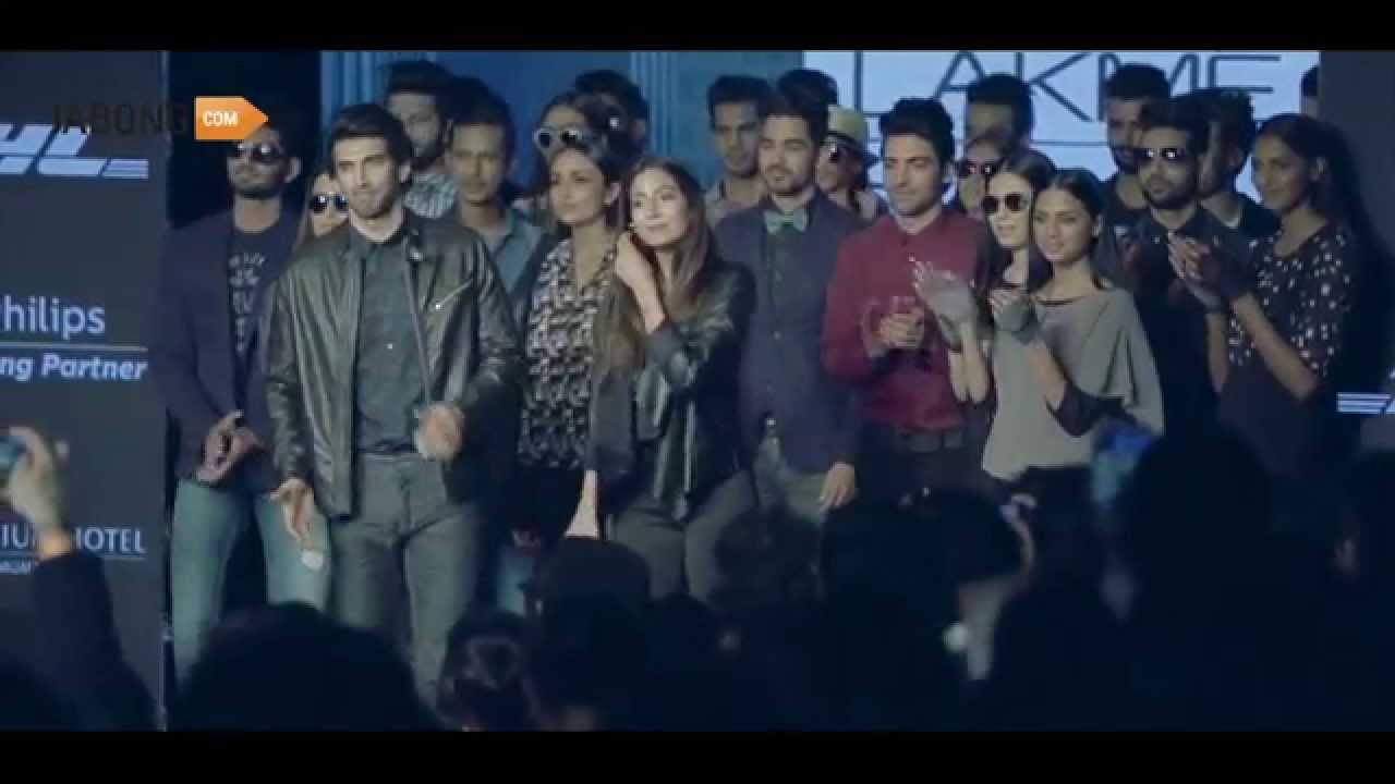 Launch of Tom Tailor at Lakme Fashion Week 2015