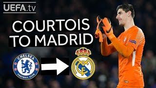 COURTOIS TO REAL MADRID: 13 GREAT SAVES from the Belgian Wall!