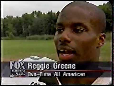 Reggie Greene - Fox TV Interview (Siena College Football 1997)