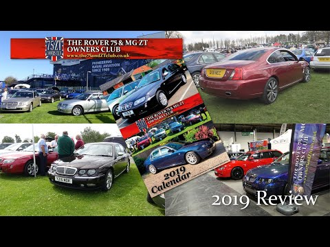 The Rover 75 & MG ZT Owners Club 2019 Review