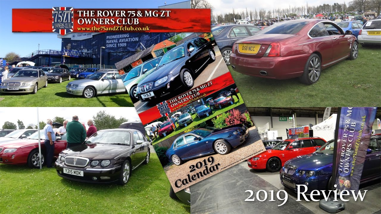 The Rover 75 Mg Zt Owners Club 2019 Review Youtube