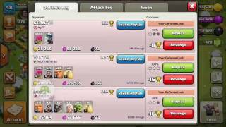 Clash of Clans - Barbarian King vs Barbarian King attack greatest The 7 attack ever