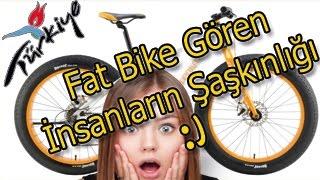 Türkiye'de Fat Bike Görenlerin Şaşkınlığı