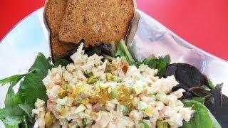 Paleo Pineaple & Pistachio Chicken Salad Recipe