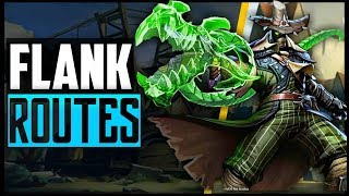 ALL MAP SECRETS & FLANK ROUTES for ANDROXUS in PALADINS