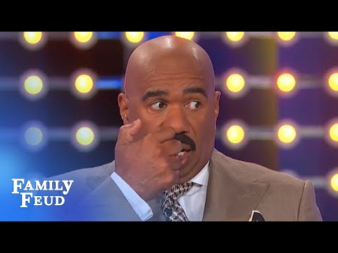 Dance Battle! Jay Vs Rubin, The Warm-up Guy! | Family Feud