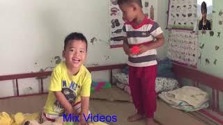 My nephews learn how to dance