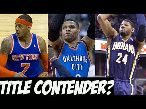 Carmelo Anthony Traded To The Thunder - Are They A Title Contender?
