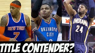 Video Carmelo Anthony Traded To The Thunder - Are They A Title Contender? download MP3, 3GP, MP4, WEBM, AVI, FLV September 2017