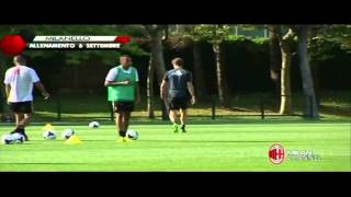 Afternoon Training at Milanello 06-09-2013 Part 1