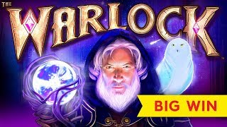 The Warlock Slot - AWESOME BONUS, Pay Pay PAY!