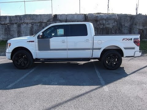 2013 FORD F-150 FX4 APPEARANCE PACKAGE 5.0 WHITE 402A AT ...