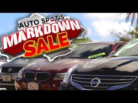 Guam AutoSpot's Markdown Sale