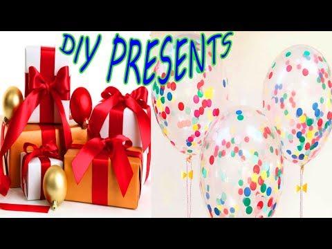 DIY CHRISTMAS GIFTS AND BALLONS