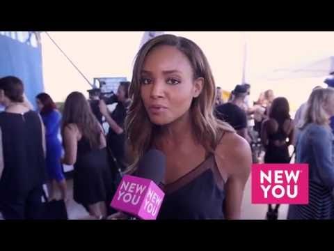 Meagan Tandy at the GBK Emmy Luxury Lounge