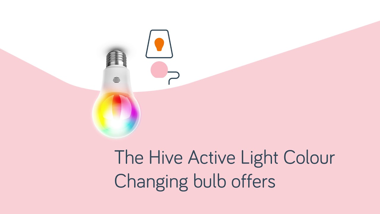 hive active light colour changing youtube. Black Bedroom Furniture Sets. Home Design Ideas