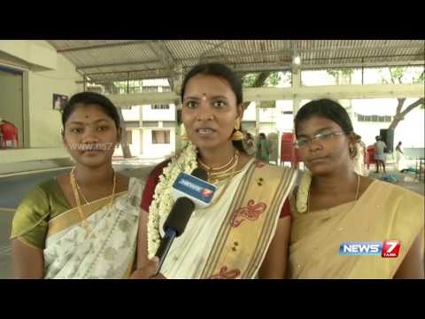 Trichy Indira Gandhi college students celebrates Onam | News7 Tamil