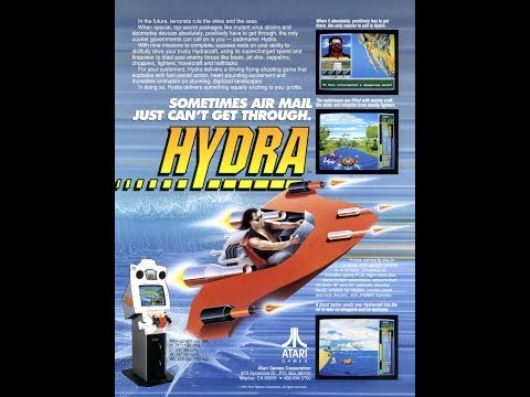 Hydra (1990) - (Full Game) Arcade Longplay [046]