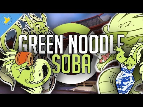 Green Noodle - Soba Compilation | Overwatch Comic Dub