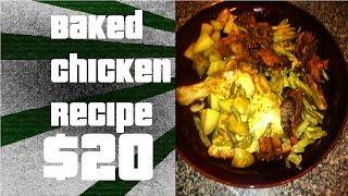 Baked Chicken With Green Beans And Potatoes (bacon Exceptional)
