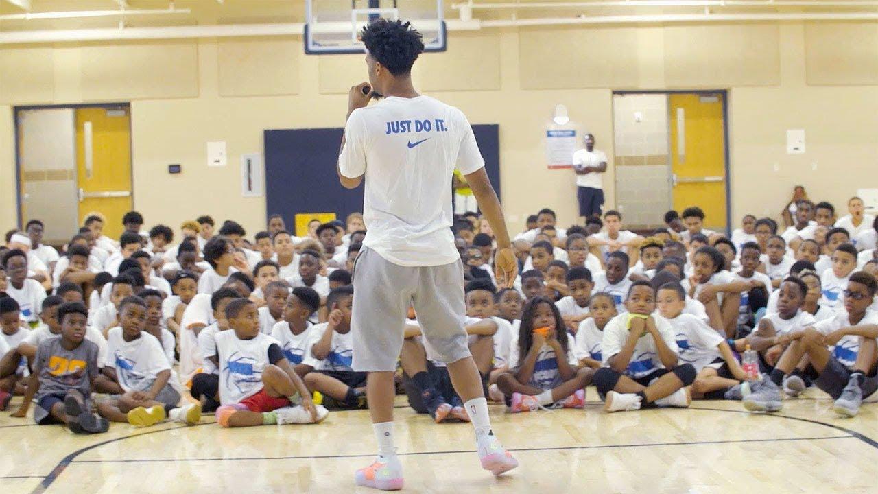 Warriors All-Access: Quinn Cook Basketball Camp