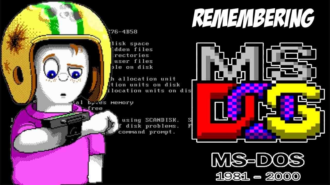 Remembering MS Dos Games Nostalgia Bomb Retro Games