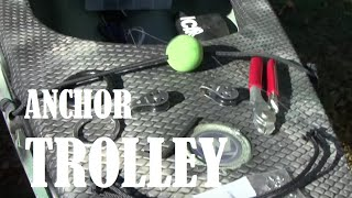 Kayak Fishing - Installing an Anchor Trolley
