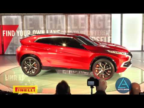 Mitsubishi Motors showcases the Concept XR-PHEV at the Los Angeles Auto Show