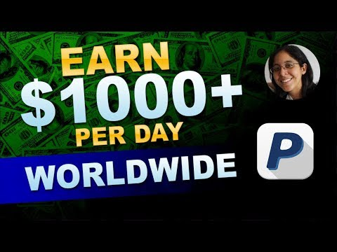 How To Earn $1000 Per Day With Affiliate Marketing [🌎 Worldwide] thumbnail