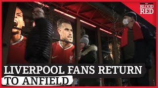 Liverpool Fans Return to Anfield | Behind The Scenes screenshot 3