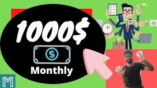 Make money online 2020 [1000$ Monthly passive income 2020]