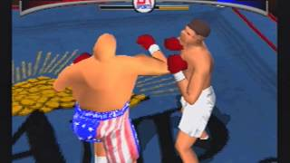 BUTTERBEAN vs. JACK DEMPSEY Knockout Kings (PS1)