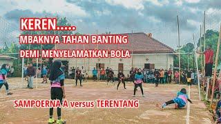 Match 1: Team Putri Sampoerna A Vs Terentang, Turnamen Sampoerna Cup Lubuk Karet 2020..