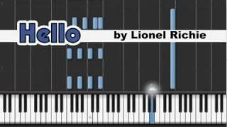 Lionel RICHIE: Hello [v01b]